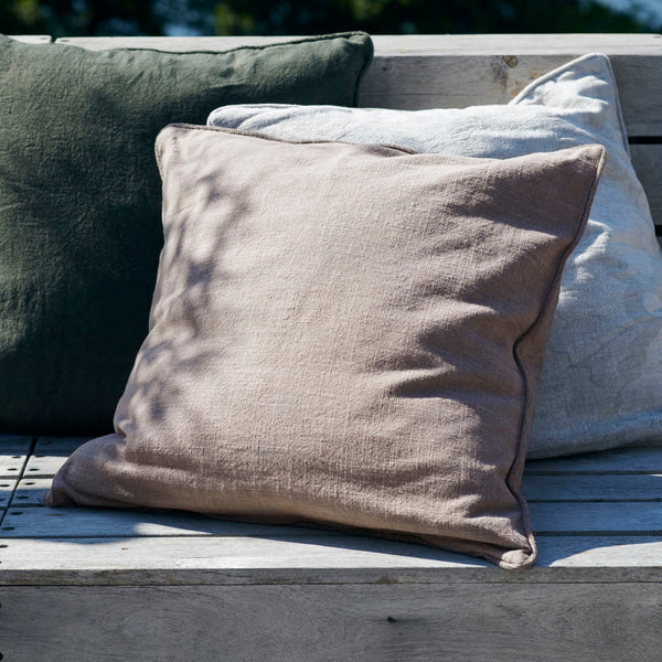 Cushion cover, Sai, Warm grey