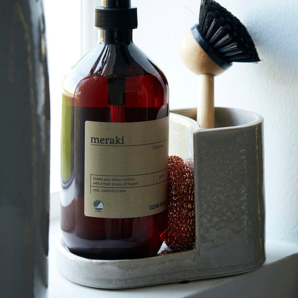 Meraki Earthenware Brush and Soap Holder