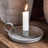 Vintage Style Metal Candle Holder, Various-Candle Holders-The Little House Shop