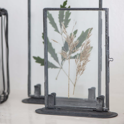 6x4 Metal Photo Frame with Stand
