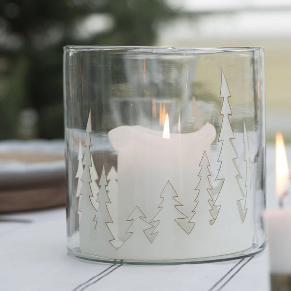 Paper Cut Forest Decoration-Christmas Decoration-The Little House Shop