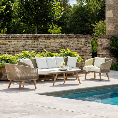 Colwell Polyrope Outdoor Sofa Set