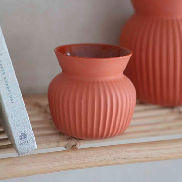 Ceramic Linear Vase, Various-vase-The Little House Shop