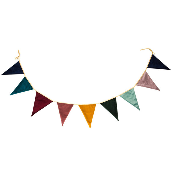 Velvet Magic Colour Bunting Bettys home
