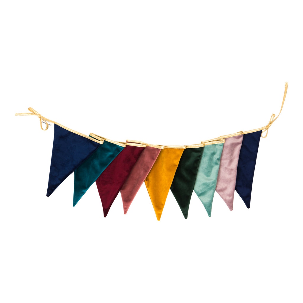 Magic Colour velvet fabric garland