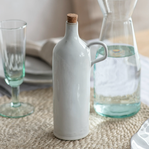 Ceramic Ithaca Oil Bottle
