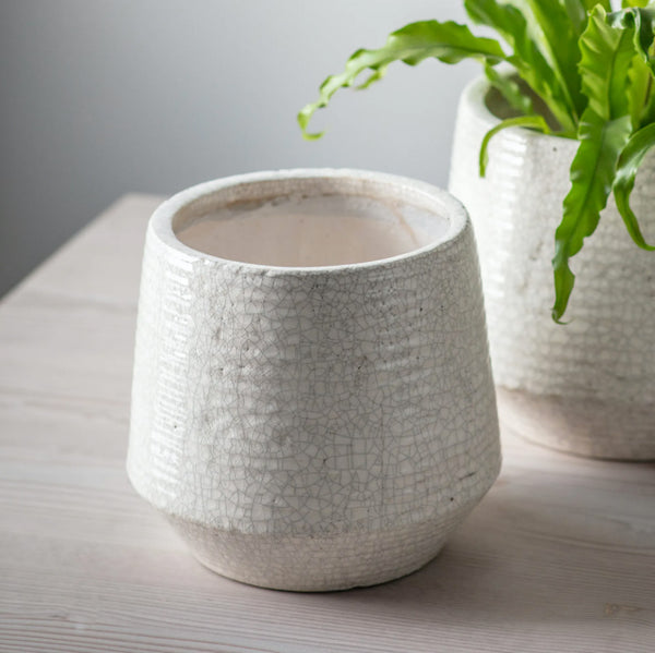 Ravello Ceramic Ridged Pot
