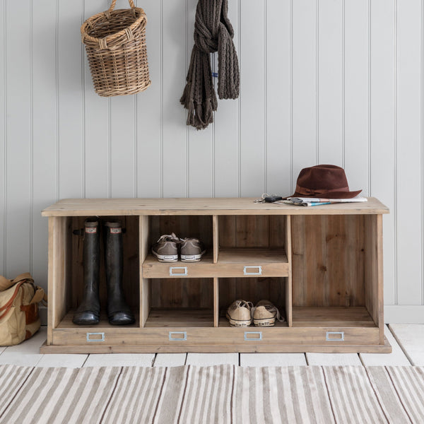 Wooden Chedworth Welly Locker