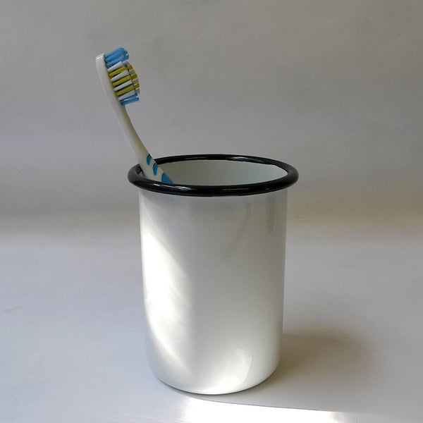 Chunky Enamel Toothbrush Holder