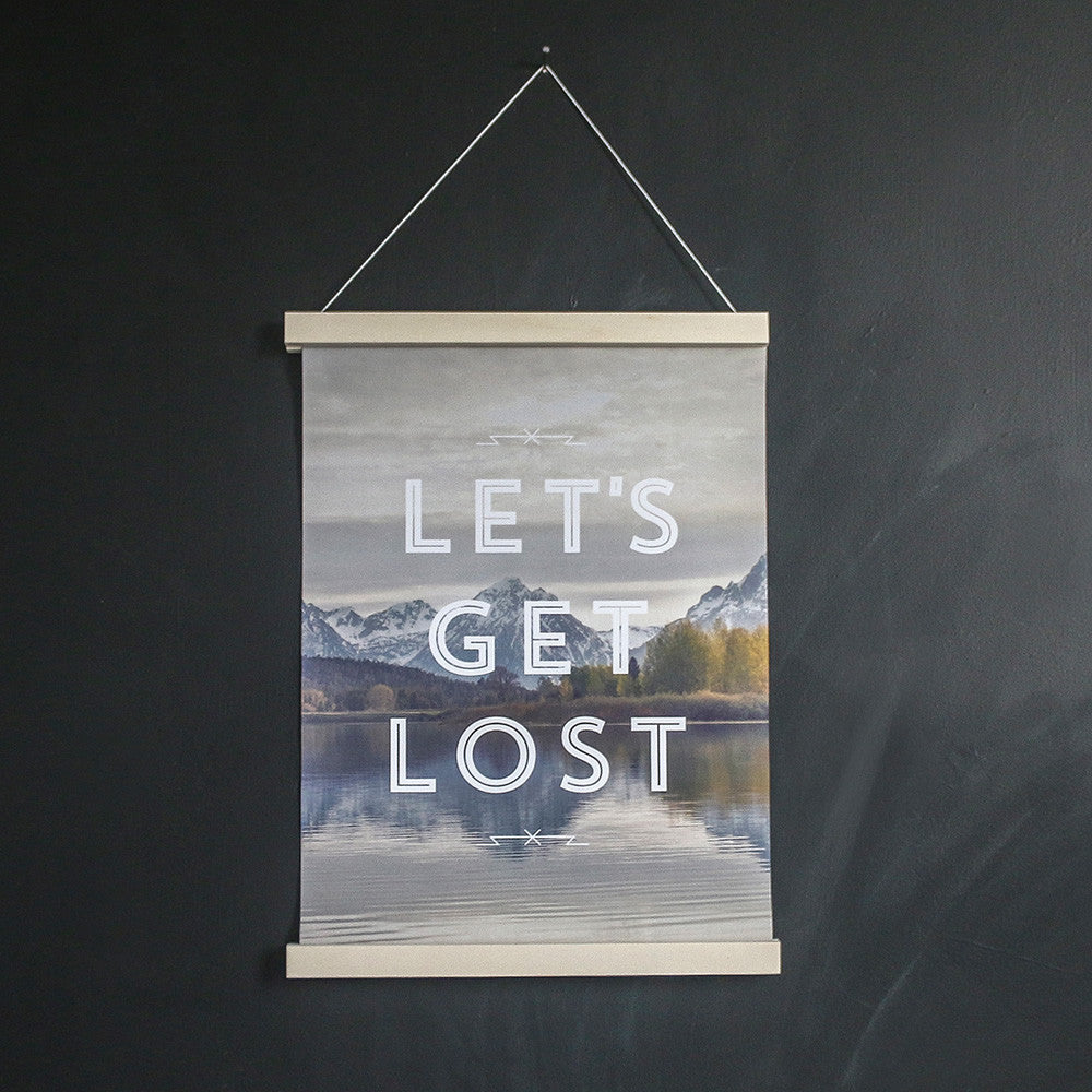 Faunascapes Let's Get Lost Art Print-prints and posters-The Little House Shop