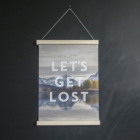 Faunascapes 'Let's Get Lost' Art Print