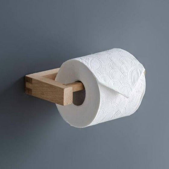 Wooden Southbourne Toilet Roll Holder