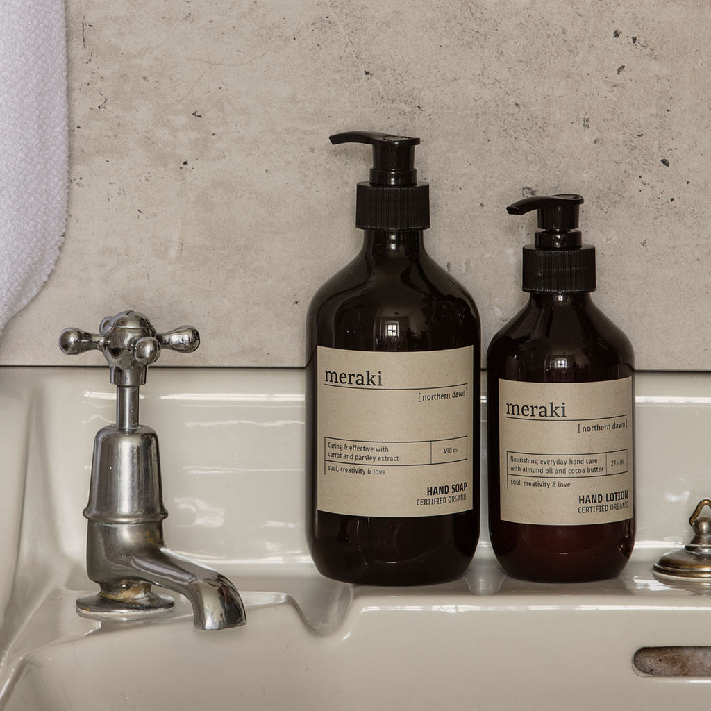 Meraki Luxury Northern Dawn Hand Soap-soap-The Little House Shop