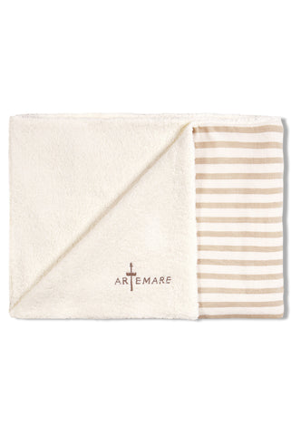 Linen Canvas + Terrycloth Beach Mat