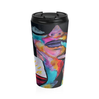 Is it the Music or the Wine? - Travel Mug