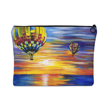 Balloon Sunrise - Flat Carry Pouch