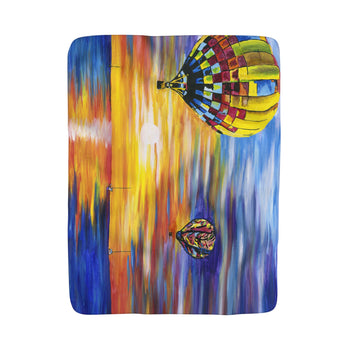 Balloon Sunrise - Blanket