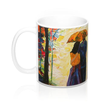 Couple in the Rain - Mug