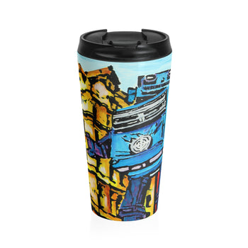 Leicester Square Robot - Travel Mug