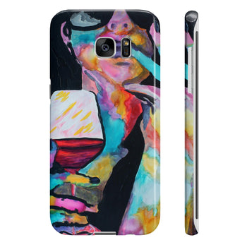 Is it the Music or the Wine? - Phone Case