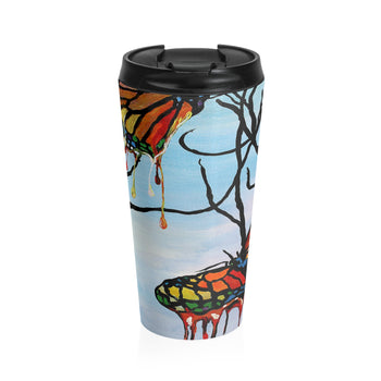 Melting Butterflies - Travel Mug