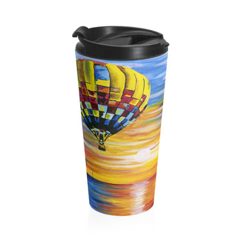 Balloon Sunrise - Travel Mug