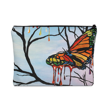 Melting Butterflies - Flat Carry Pouch