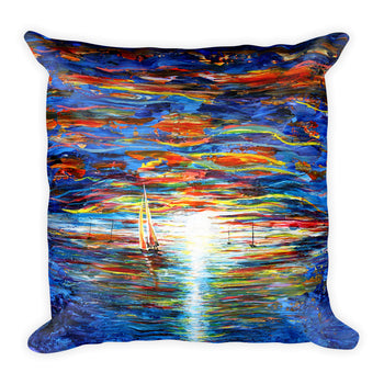 Square Pillow - Seascape