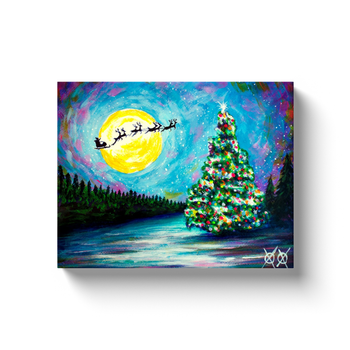Canvas Wrap - Vision of Santa