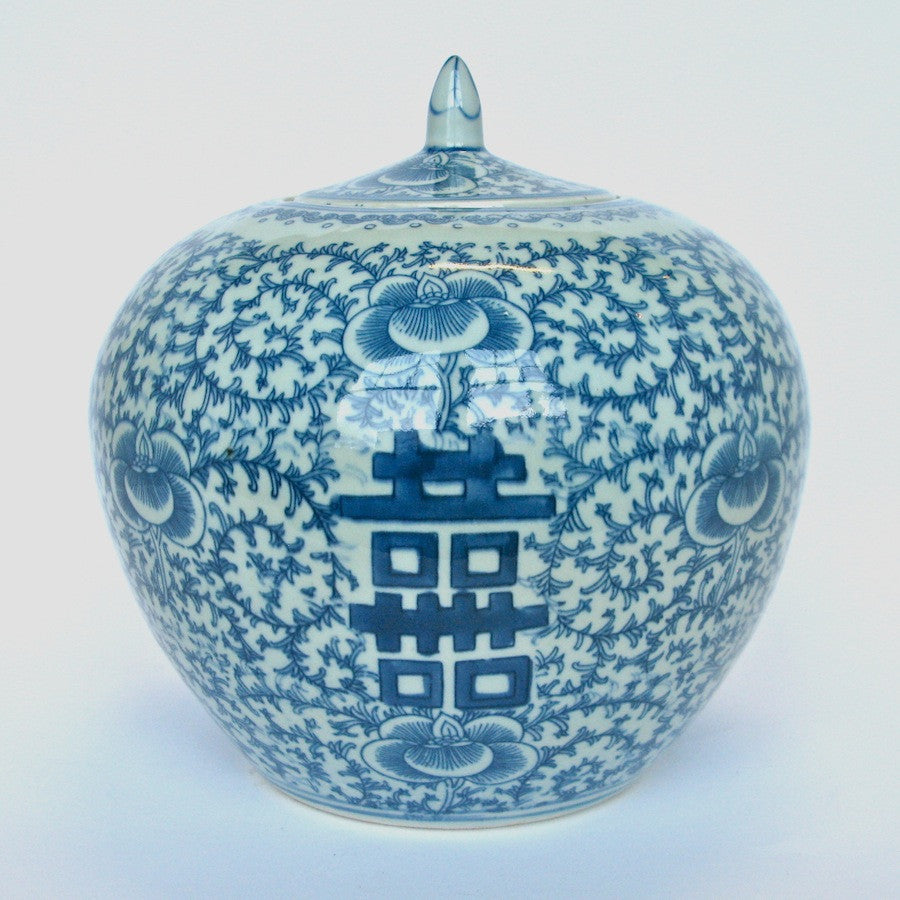 Blue and white chinese porcelain ginger jar cargo blue and white chinese porcelain ginger jar floridaeventfo Images
