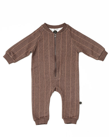 Pinstripe babies' jumpsuit by Mainio