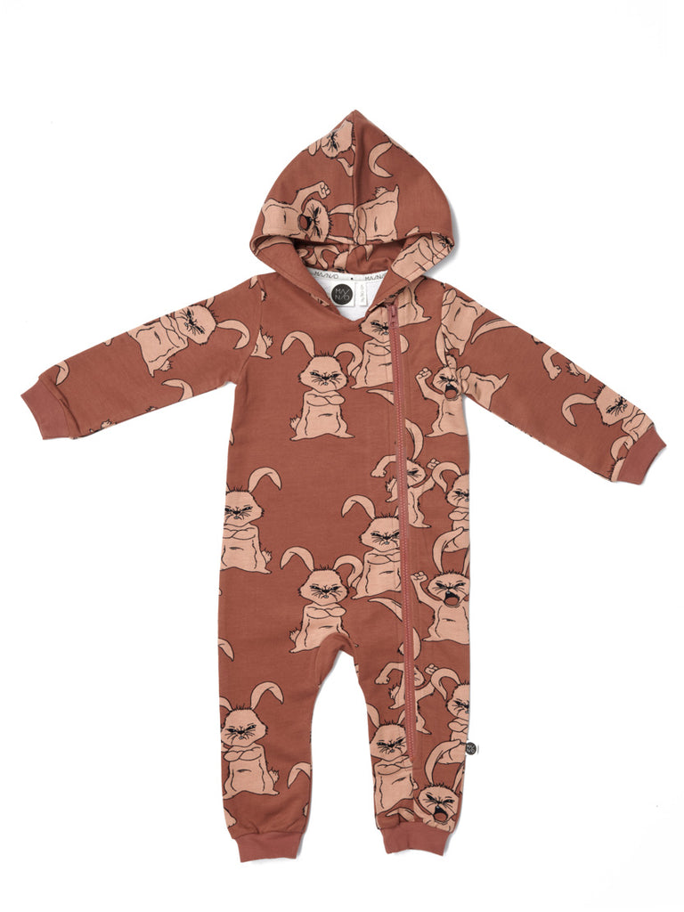Hubbub Hooded Jumpsuit