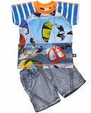 Molo Kids - Kite Rider tee con Sam Shorts