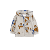 Cool Monkey Zip Hoodie  de Mini Rodini