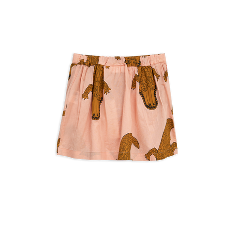 Croco Woven Skirt de Mini Rodini