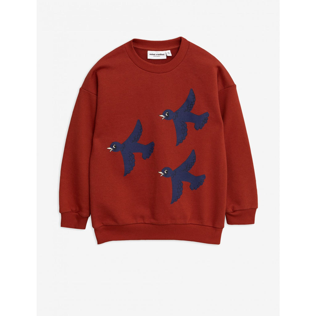 Flying birds sp sweatshirt - by Mini Rodini