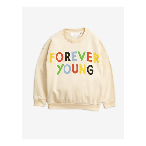 Forever young sp sweatshirt - by Mini Rodini