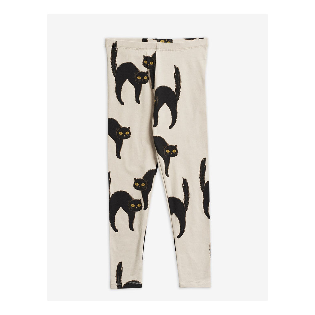 Cat Leggings by Mini Rodini