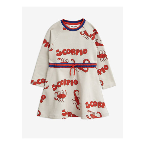 Scorpio Printed Sweatdress by Mini Rodini