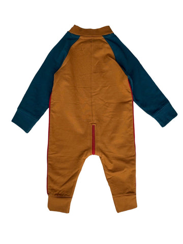 Suit french knit - brown by KIK KID