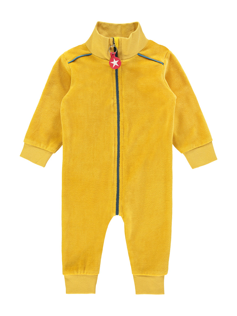Suit velvet - yellow by KIK KID