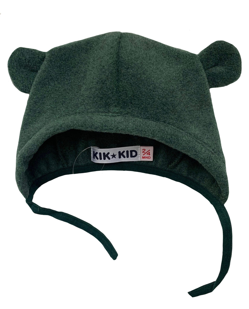 Hat sproet fleece - d.green by Kik Kid