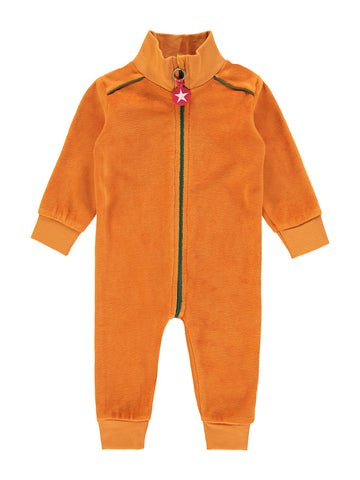 Suit velvet - orange by KIK KID