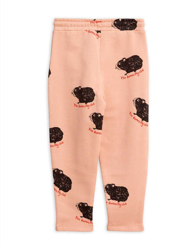 Copia de Guinea Pig Sweatpants pink by Mini Rodini