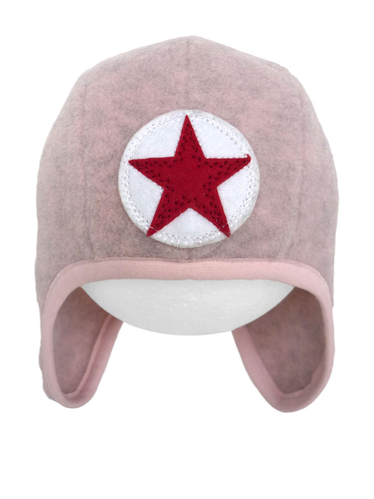 Hat speedy star fleece - lpink by Kik Kid
