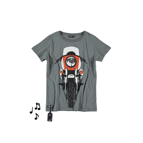 Camiseta con sonido Retro bike Tee by Yporqué