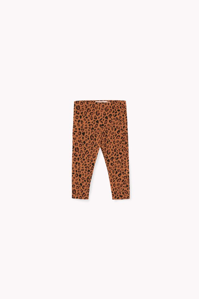 ANIMAL PRINT PANT brown/dark brown by Tinycottons