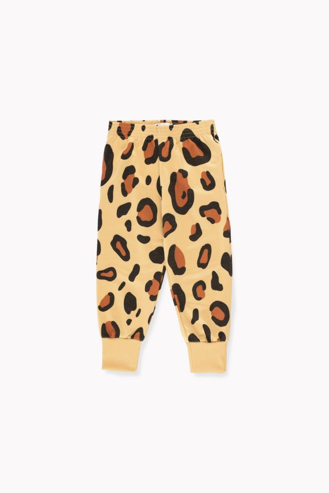 Animal print pant sand/brown