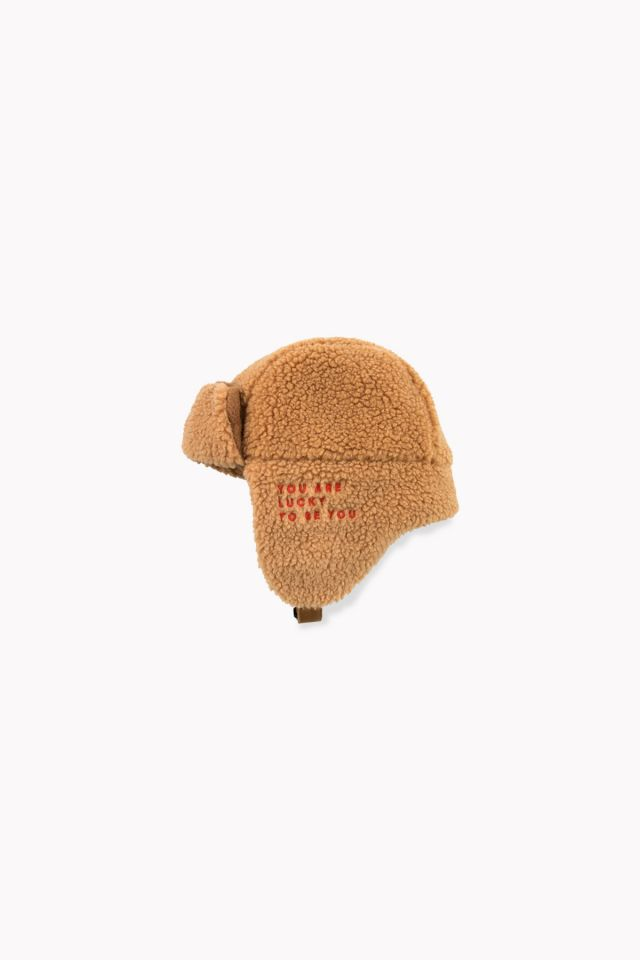 Gorro SHERPA CHAPKA brown by Tinycottons