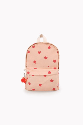 Apples Backpack nude/burgundy
